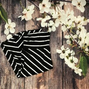 (Faded Glory) Striped Maxi Skirt